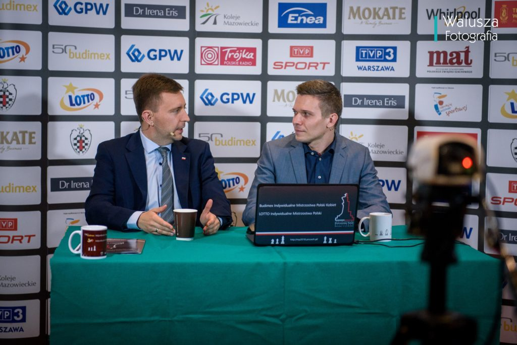 Poseł Łukasz Schreiber na mistrzostwach Polski
